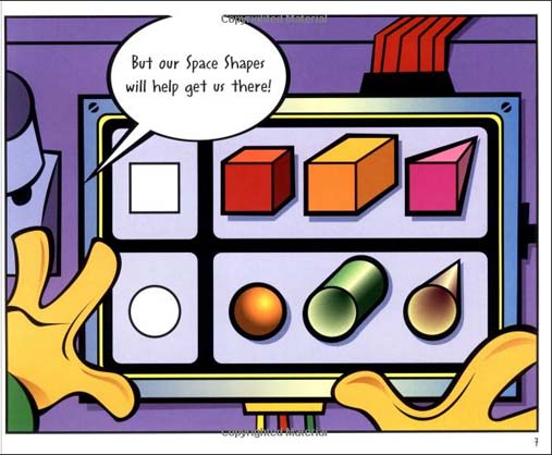 ... Invincible and the Space Shapes-- a cute kids book for teaching shapes