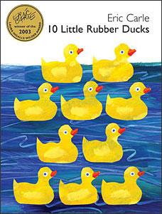 10 Little Rubber Ducks