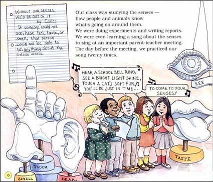 The Magic School Bus: Explores the Senses