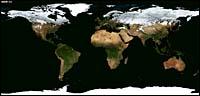 satellite image of seasons