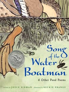 Song of the Water Boatman: And Other Pond Poems