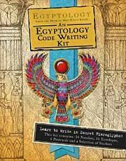 Egyptology Code Writing Kit