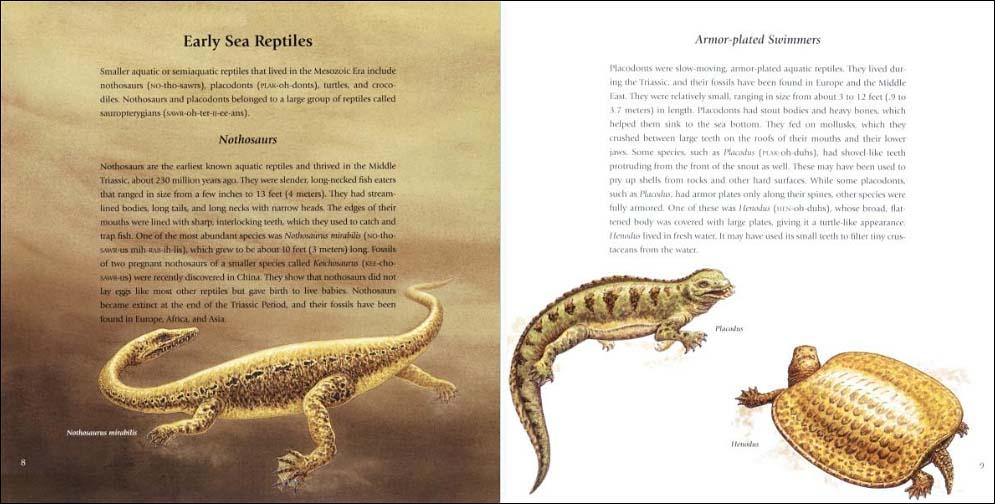 Giant Sea Reptiles