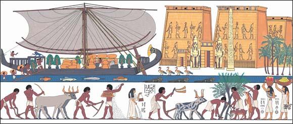 The Pharaoh's Boat