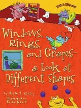 Windows, Rings, and Grapes -- book about shapes