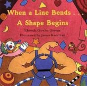 When a Line Bends, a Shape Begins children's book on shapes