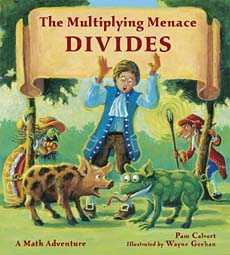 Mutliplying Menace Divides -- children's story about division