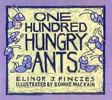 One Hundred Hungry Ants -- division story for kids
