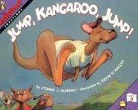 Jump Kangaroo Jump Mathstart book about fractions