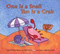 One Is a Snail Ten is a Crab addition picture book