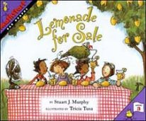 Lemonade for Sale Mathstart graphing children's book