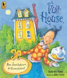 Full House children's fractions book