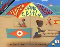 Super Sand Castle Saturday children's picture book about measurement