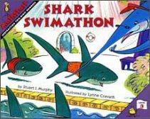Shark Swimathon mathstart subtraction book
