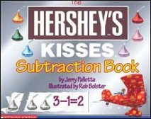 Hersheys Kisses Subtraction book for kids