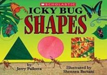 Icky Bug Shapes -- children's book