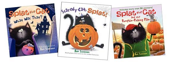 splat the cat halloween books