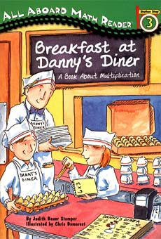 Breakfast at Danny's Diner multiplication early reader