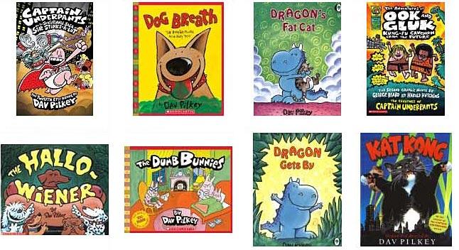 Dav Pilkey books