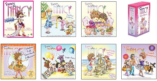 and nancys positive attitude is a great role model for young ones to learn more about this series click on the book covers below or the link above - Fancy Nancy Halloween