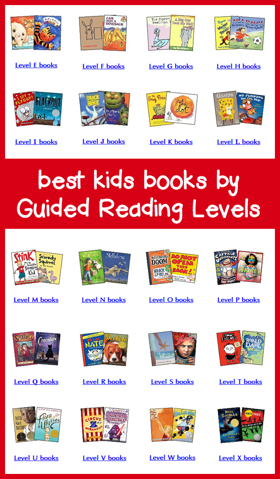 Books By Guided Reading Levels Teachers Picks For Best Leveled Books