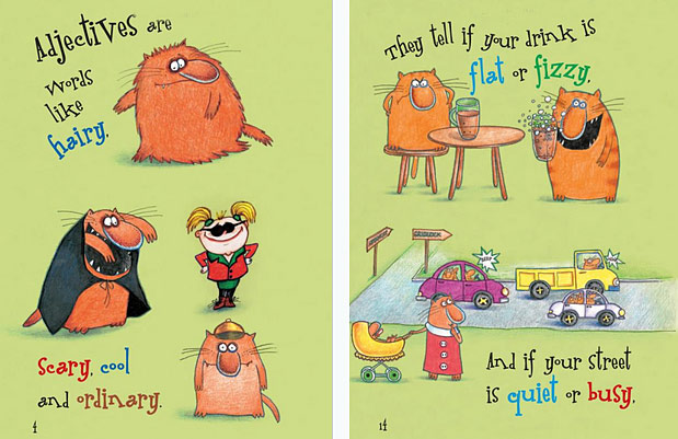 Hairy scary ordinary adjective book