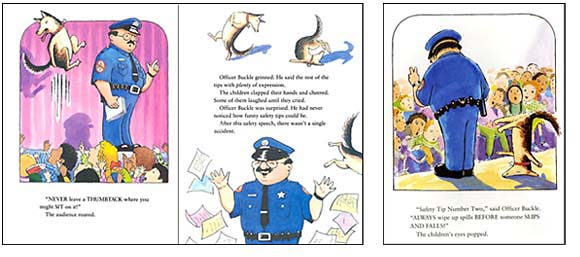 a review of officer buckle and gloria a picture book by peggy rathmann Abebookscom: officer buckle & gloria (caldecott medal book) (9780399226168) by peggy rathmann and a great selection of similar new, used and collectible books available now at great prices.
