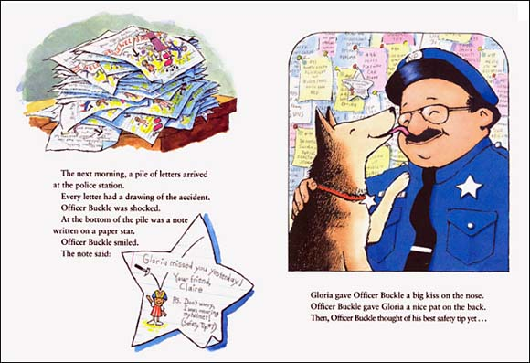 a review of officer buckle and gloria a picture book by peggy rathmann Reviews by author peggy rathmann officer buckle and gloria  books by peggy rathmann biography bibliography find an author.