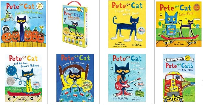 Pete The Cat Halloween Book
