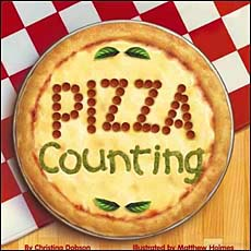 Pizza Counting fractions childrens book