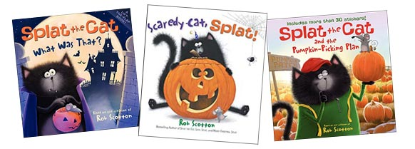 Splat the Cat Halloween books