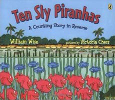 Ten Sly Piranhas subtraction story