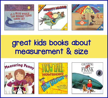 childrens books about measurement