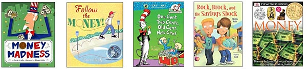 childrens books about money