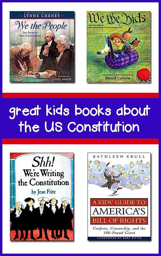 Constitution for Kids -- Best Children's Books for K-8