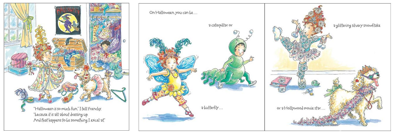 Fancy Nancy Halloween Books