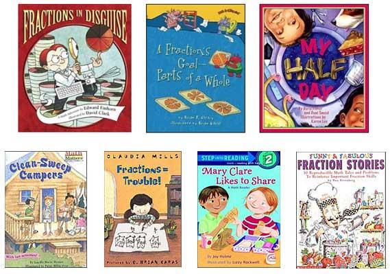 fractions stories for children