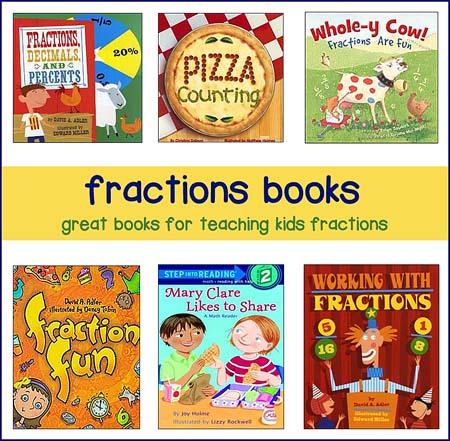 books for teaching fraction lesson plans
