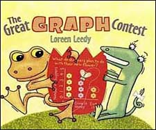 The Great Graph Contest children's book about graphing