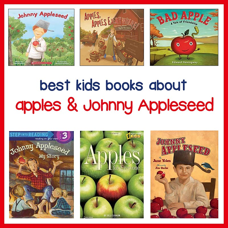 Johnny Appleseed Day Childrens Books For Sharing The Johnny