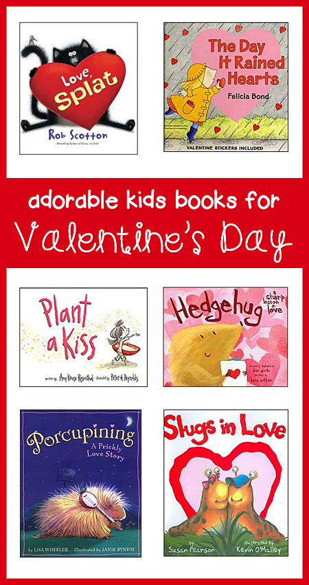 kids valentines day picture books