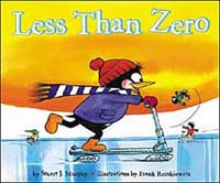 Less than Zero book with graphing for kids