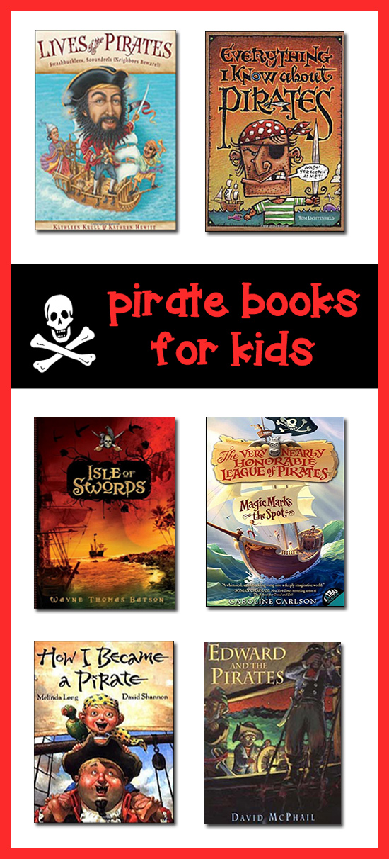 Pirate Books For Kids Best Childrens Books About Pirates
