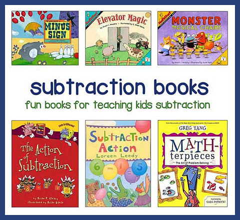 subtraction books for children