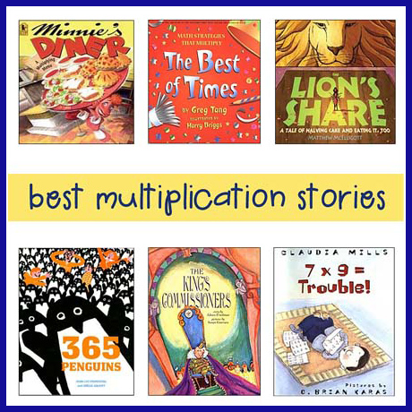 multiplication story books