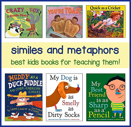 Teaching Simile Lesson Plans Using Childrens Books Best Books To