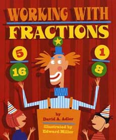 Working with Fractions by David Adler