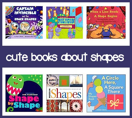 books for teaching shapes