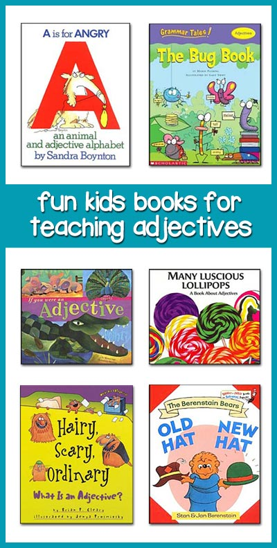 books for teaching adjectives