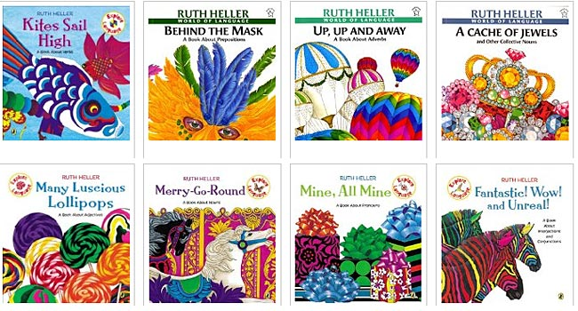 Ruth Heller books (World of Language)